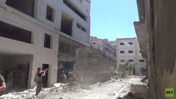 سوريا.. هجمات واسعة في جنوب غرب حلب