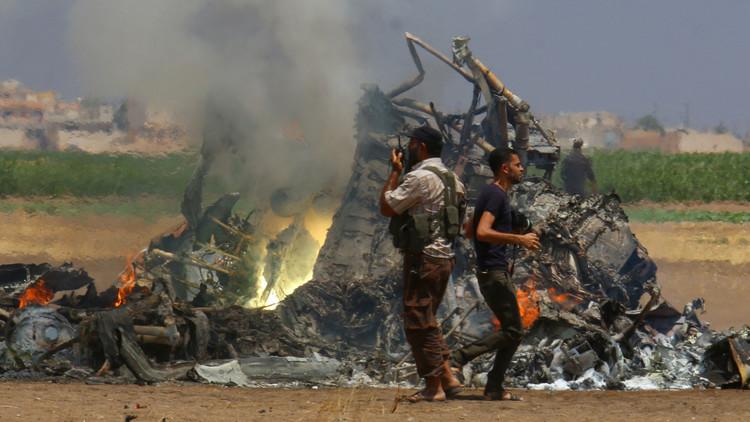 قناة روسية تكشف عن ملابسات إسقاط المروحية الروسية في سوريا