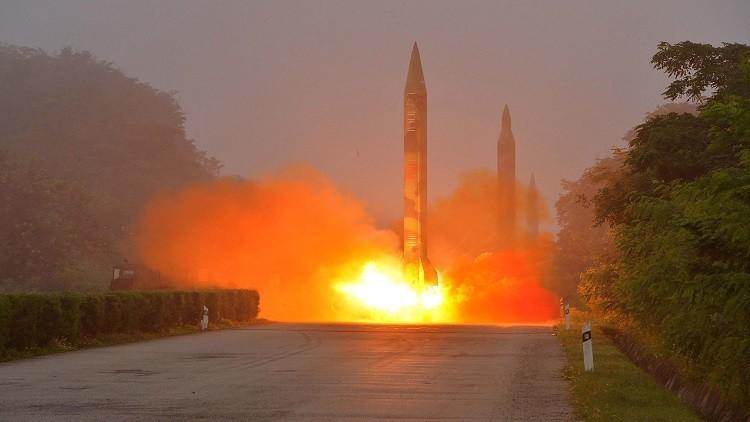 بيونغ يانغ تتحدى الجميع وتطلق صاروخا بالستيا جديدا