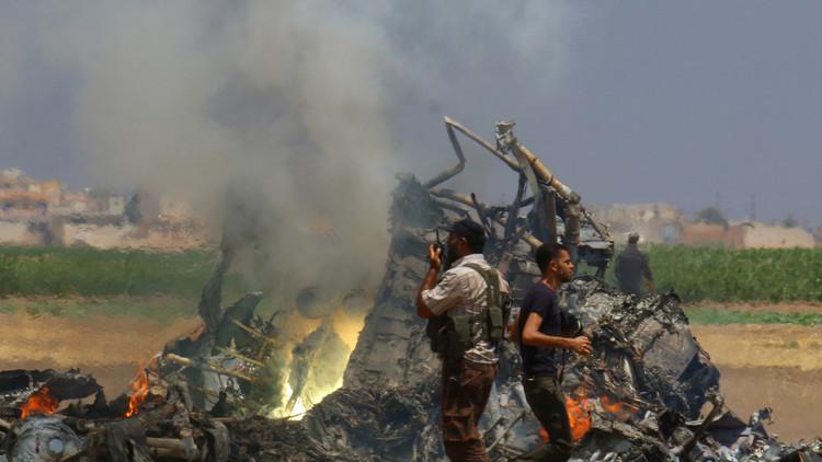 بماذا ردت روسيا على إسقاط المروحية في سوريا!