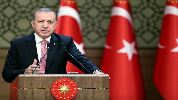 أردوغان يعلن تعيين ضباط جدد خلال اليومين القادمين