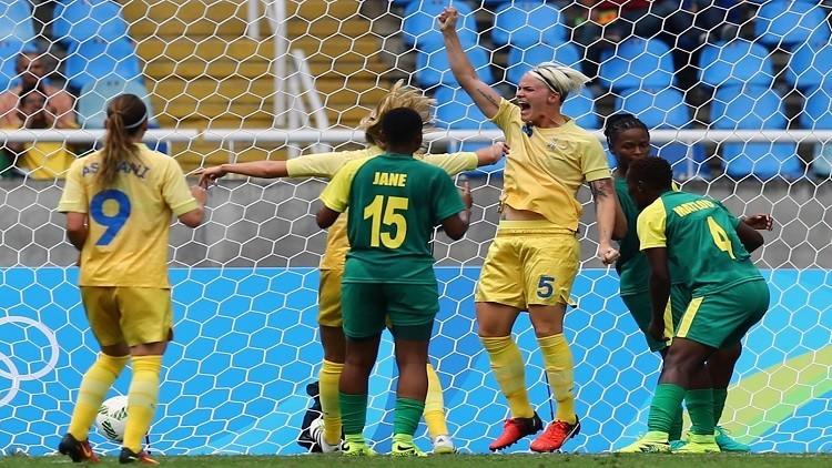 ريو 2016.. السويد تفتتح المشوار بالفوز على جنوب أفريقيا