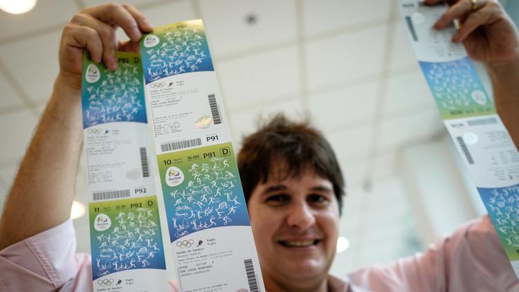 بيع 80% من تذاكر منافسات أولمبياد ريو 2016
