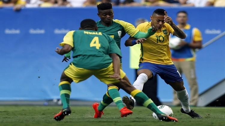 ريو 2016.. جنوب أفريقيا تحرج البرازيل