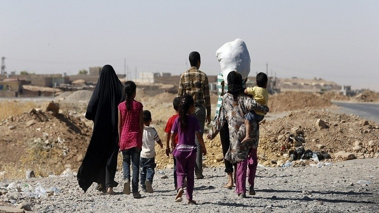 داعش يأسر 3 آلاف فروا من كركوك