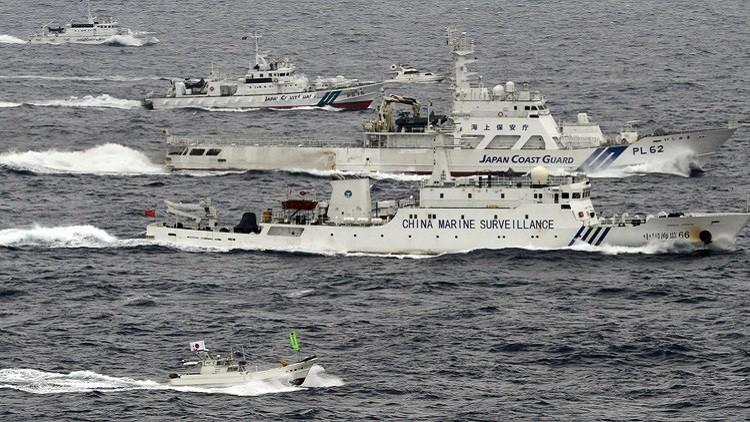 طوكيو تحتج على خرق سفن صينية مياهها الإقليمية