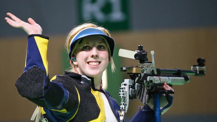 أول ذهبية أولمبية من نصيب الأمريكية ثراشر في أولمبياد ريو