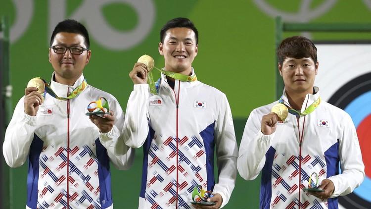 ريو 2016 .. كوريا الجنوبية تحرز ذهبية القوس والسهم للفرق