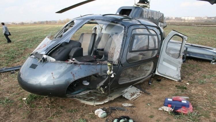 قتيلان وجرحى بتحطم مروحيتين في روسيا