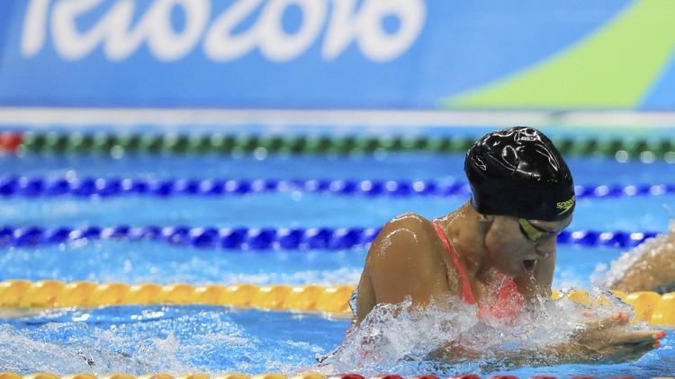 الروسية يفيموفا تسجل ثاني أفضل زمن في سباق 100 م صدرا