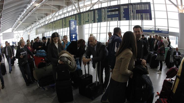 إخلاء مطار وارسو الدولي بسبب أمتعة مشبوهة
