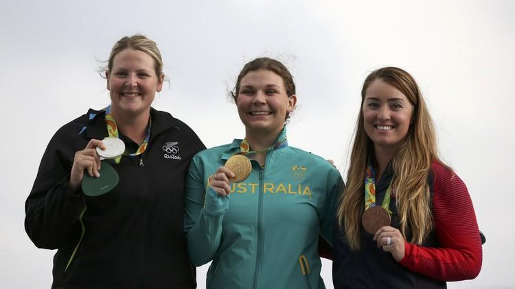 كاثرين سكينر تهدي أستراليا ذهبية الرماية