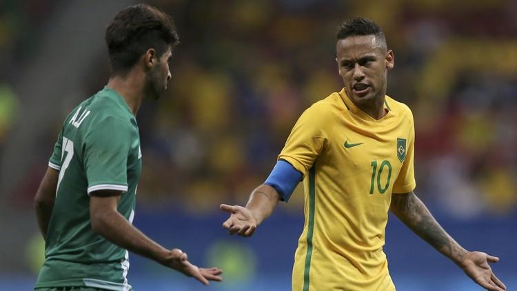 العراق يحرج البرازيل في أولمبياد