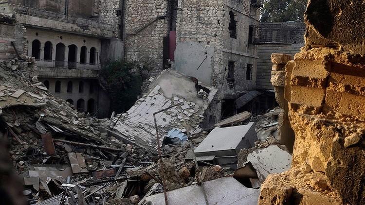 الطيران السوري يدمر قوافل للمسلحين جنوب غرب حلب