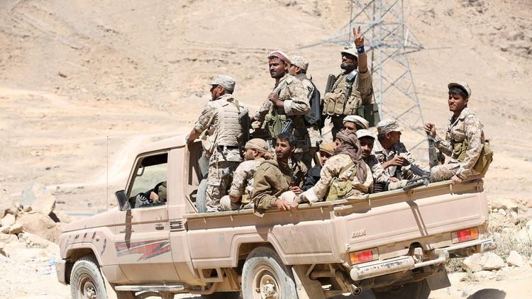 التحالف العربي يقصف