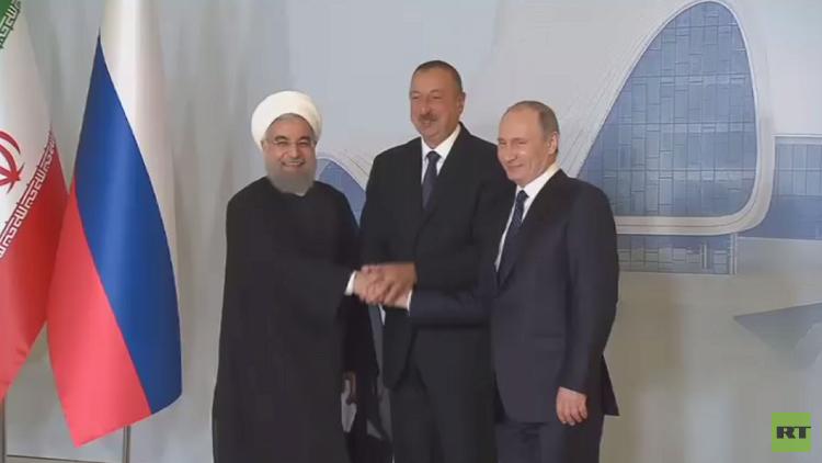 قمة باكو.. بوتين يشدد على ضرورة منع تنقل المسلحين بين الدول