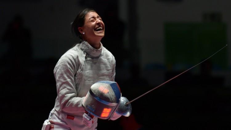 الروسية يانا يغوريان بطلة للمبارزة في أولمبياد