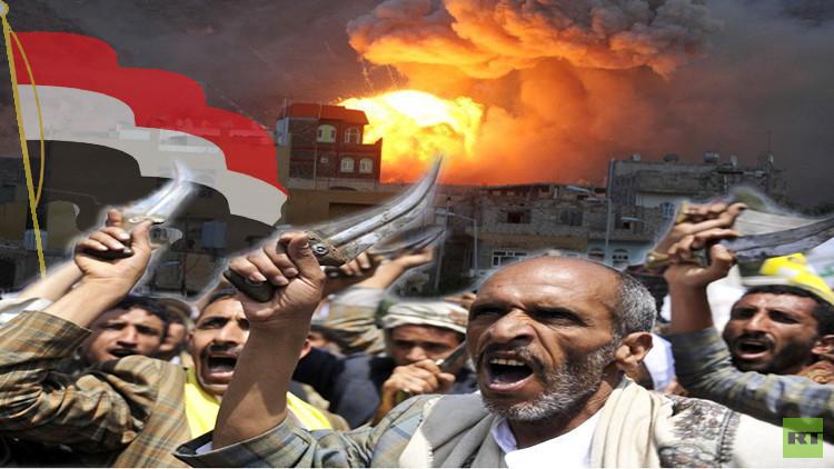 التحالف العربي يكثف غاراته على اليمن