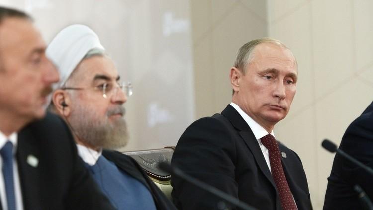 ظریف يشيد بالتعاون بين طهران وموسكو وباكو