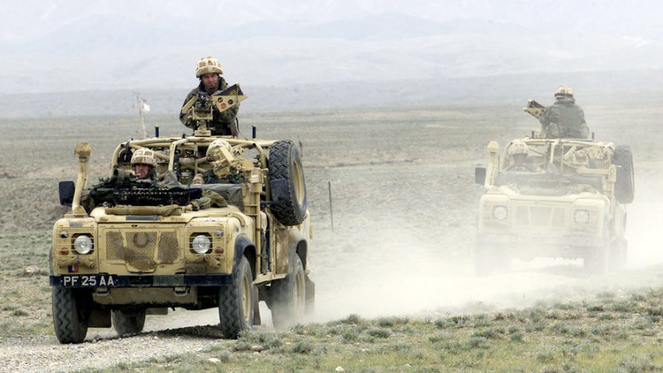 نشر أولى صور القوات الخاصة البريطانية في سوريا