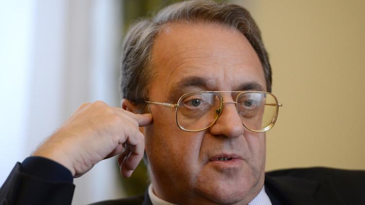 بوغدانوف يبحث مع السفير البحريني أزمة سوريا