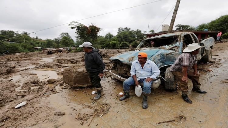 المكسيك.. ارتفاع ضحايا إعصار