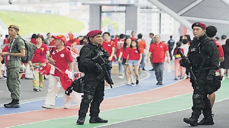 سنغافورة صارت هدفا لهجمة إرهابية
