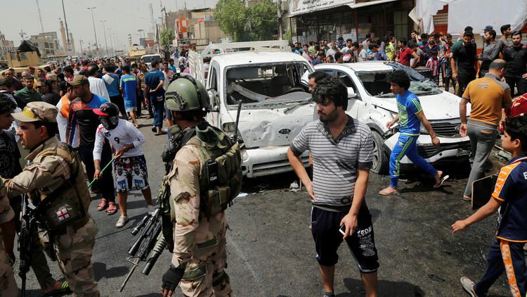 قتلى وجرحى بتفجير انتحاري جنوب بغداد