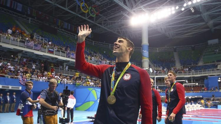 القرش الذهبي.. يحصد الذهبية الـ21 في مسيرته الأولمبية