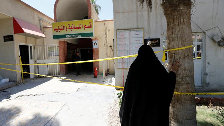 التحقيق في مصرع 11 رضيعا بحريق مستشفى في بغداد