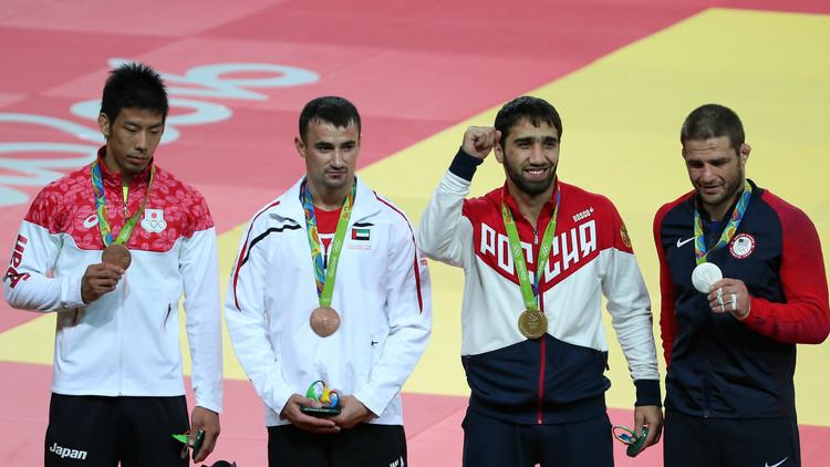 أول ميدالية للعرب في