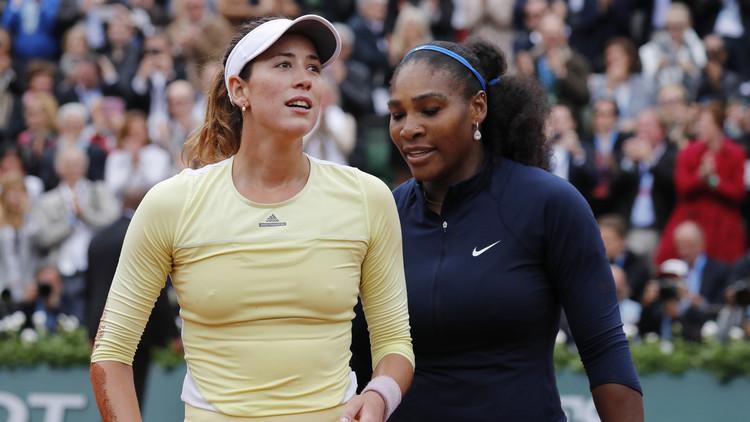سيرينا وموغوروزا تودعان ريو