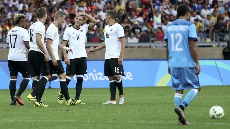 ألمانيا تمطر شباك فيجي بالأهداف في ريو 2016