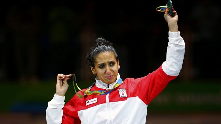 التونسية إيناس تهدي بلادها أول ميدالية في ريو