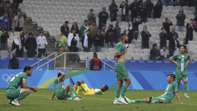 القدم العراقية تودع أولمبياد ريو 2016