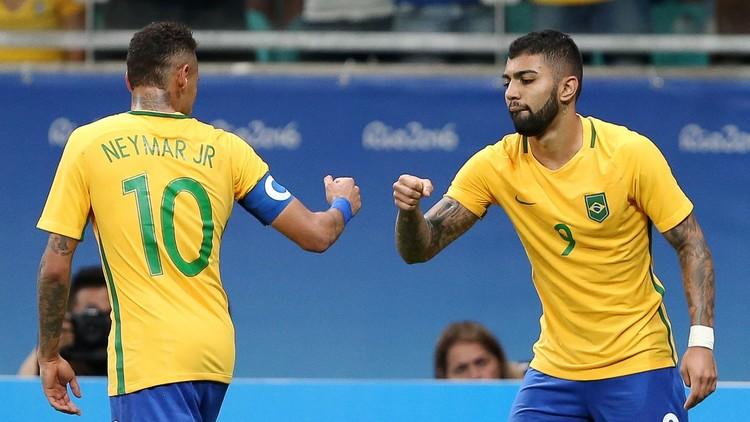 الأولمبي البرازيلي يواصل الحلم الذهبي في ريو