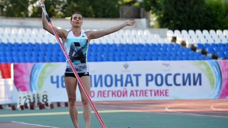 البطلة ايسنباييفا تنافس على رئاسة الاتحاد الروسي لألعاب القوى