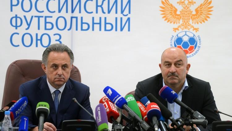 رسميا .. تشرتشيسوف مدربا لمنتخب روسيا