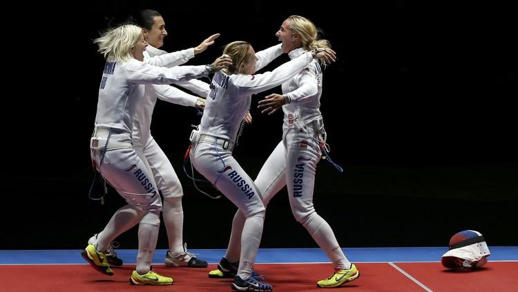 روسيا تحصد برونزية المبارزة للفرق في أولمبياد