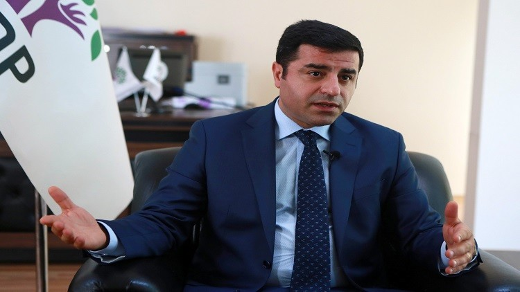 زعيم حزب الشعوب الديمقراطي التركي يواجه عقوبة السجن تصل إلى 5 أعوام
