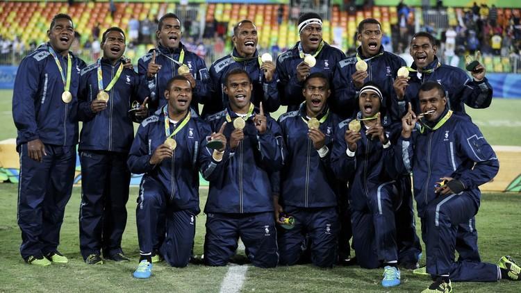 فيجي تسطر التاريخ في أولمبياد ريو