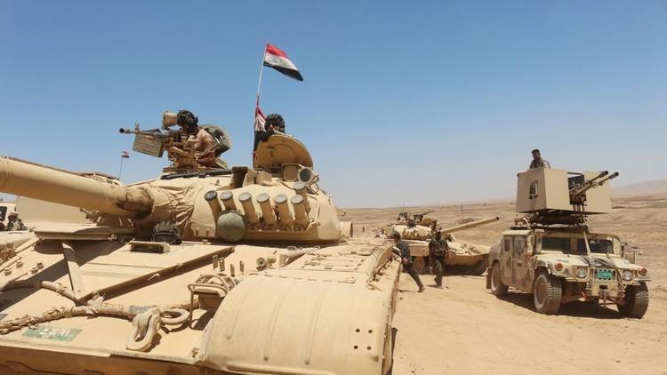 القوات العراقية تستعيد السيطرة على عدة قرى جنوب الموصل