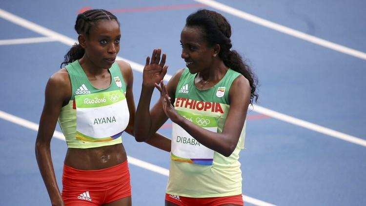 الإثيوبية ألماس تفوز بذهبية 10000 م برقم عالمي
