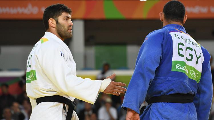 الأولمبية المصرية .. رفض الشهابي مصافحة منافسه الإسرائيلي