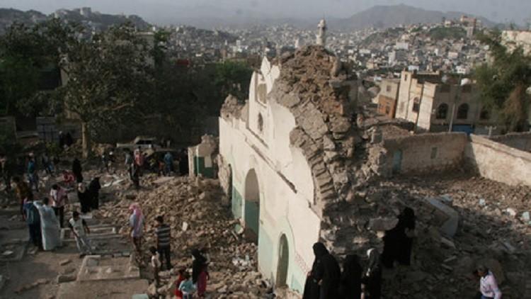 غارات التحالف العربي تطال مدنيين في صنعاء