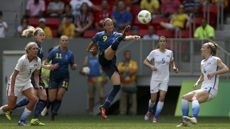بطلة أولمبياد لندن 2012 لكرة القدم تودع ريو