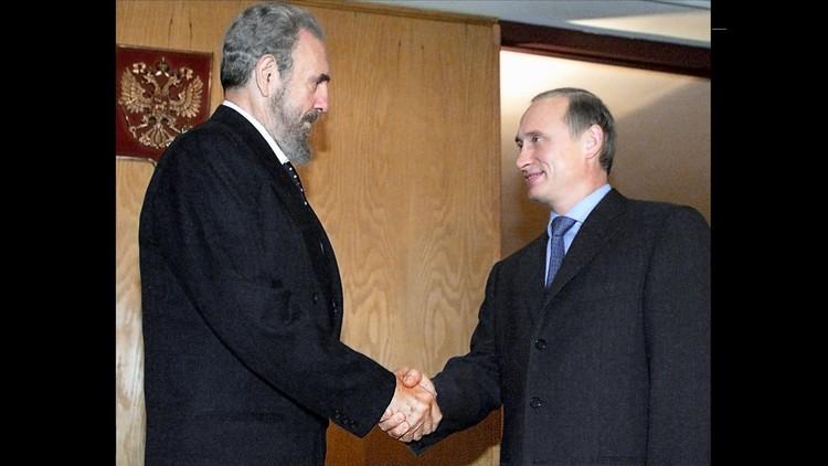 بوتين يهنئ كاسترو بعيد ميلاده الـ90