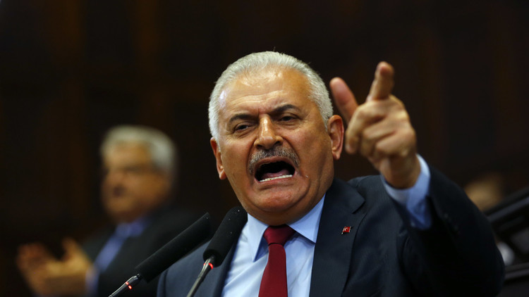 يلدريم: تصاعد المشاعر المعادية للأمريكيين في تركيا يتوقف على قضية غولن