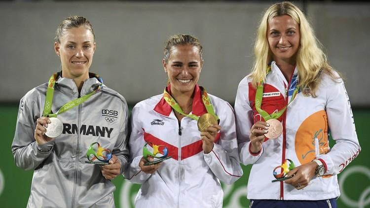 لاعبة تنس مغمورة تكتب اسمها بأحرف من ذهب في أولمبياد ريو