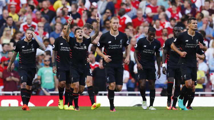 ليفربول يهزم أرسنال في مباراة